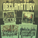 Flyer of Declamatory's record release concert @ K17